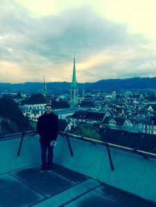 Últimas horas em Zurique